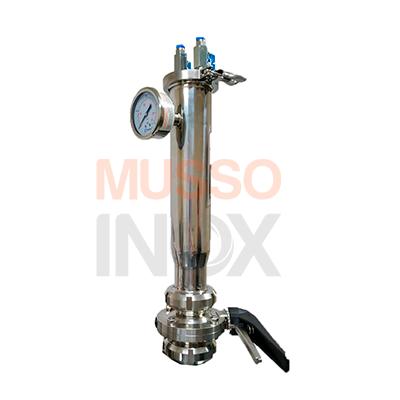 bazuca de dry-hopping em iço inox, marca Musso Inox