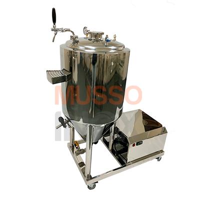 fermentador 100 litros auto refrigerado musso inox