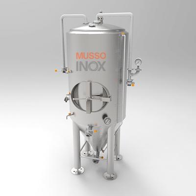fermentador 500 litros fabricado em aço inox, marca Musso Inox