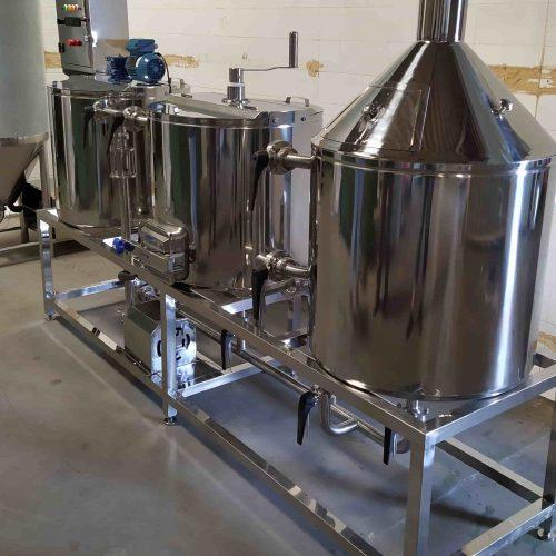 cozinha tribloco 150 litros musso inox